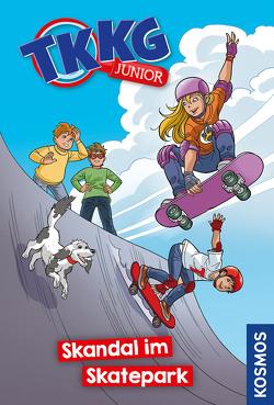 TKKG Junior, 15, Skandal im Skatepark von COMICON S.L./ Beroy + San Julian, Vogel,  Kirsten