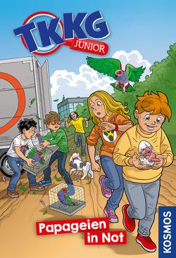TKKG Junior, 5, Papageien in Not von COMICON S.L./ Beroy + San Julian, Vogel,  Kirsten