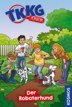 TKKG Junior, 9, Roboterhund von COMICON S.L./ Beroy + San Julian, Vogel,  Kirsten