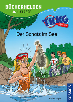 TKKG Junior, Bücherhelden 1. Klasse, Der Schatz im See von COMICON S.L./ Beroy + San Julian, Vogel,  Kirsten