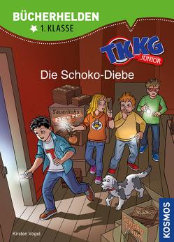 TKKG Junior, Bücherhelden 1. Klasse, Die Schoko-Diebe von COMICON S.L./ Beroy + San Julian, Vogel,  Kirsten