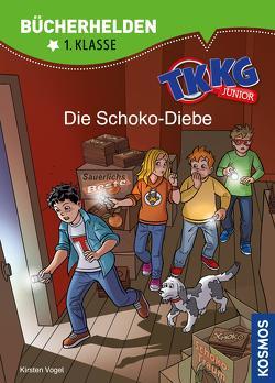 TKKG Junior, Bücherhelden 1. Klasse, Die Schoko-Diebe von Julian,  COMICON S.L./ Beroy + San, Vogel,  Kirsten