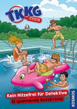 TKKG Junior, Kein Hitzefrei für Detektive von Julian,  COMICON S.L./ Beroy + San, Vogel,  Kirsten