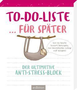 To-do-Liste … für später