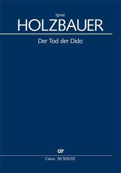 Tod der Dido (Klavierauszug) von Holzbauer,  Ignaz