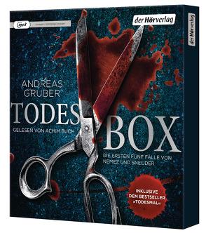 Todes-Box. Die ersten fünf Fälle von Nemez und Sneijder von Buch,  Achim, Gruber,  Andreas