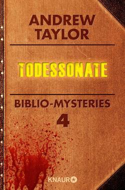 Todessonate von Taylor,  Andrew, Visintini,  Silvia
