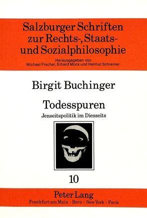 Todesspuren von Buchinger,  Birgit