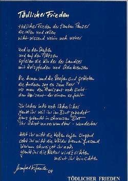 Tödlicher Frieden von Freude,  Manfred H.