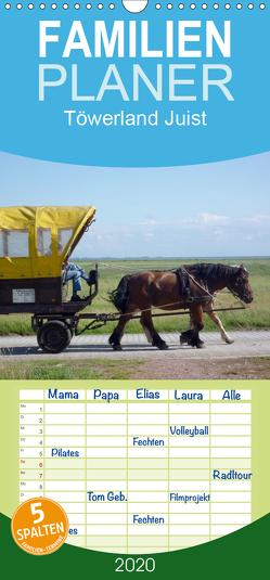 Töwerland Juist – Familienplaner hoch (Wandkalender 2020 , 21 cm x 45 cm, hoch) von Geißler,  Uli