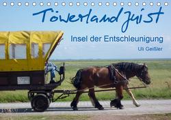 Töwerland Juist (Tischkalender 2021 DIN A5 quer) von Geißler,  Uli