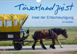 Töwerland Juist (Wandkalender 2021 DIN A4 quer) von Geißler,  Uli
