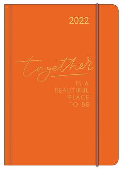 TOGETHER 2022 – Diary – Buchkalender – Taschenkalender – 12×17