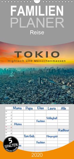 Tokio – Hightech und Menschenmassen – Familienplaner hoch (Wandkalender 2020 , 21 cm x 45 cm, hoch) von Roder,  Peter