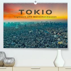 Tokio – Hightech und Menschenmassen (Premium, hochwertiger DIN A2 Wandkalender 2021, Kunstdruck in Hochglanz) von Roder,  Peter
