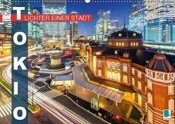 Tokio: Lichter einer Stadt (Wandkalender 2019 DIN A2 quer) von CALVENDO