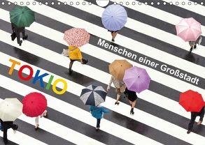 Tokio – Menschen einer Großstadt (Wandkalender 2018 DIN A4 quer) von Christopher Becke,  Jan