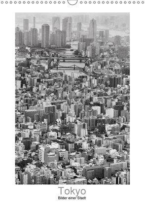 Tokyo – Bilder einer Stadt (Wandkalender 2018 DIN A3 hoch) von Scheffner,  Jan