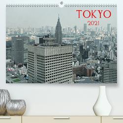 Tokyo (Premium, hochwertiger DIN A2 Wandkalender 2021, Kunstdruck in Hochglanz) von G. Zucht,  Peter