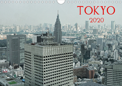 Tokyo (Wandkalender 2020 DIN A4 quer) von G. Zucht,  Peter