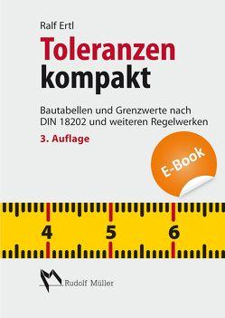 Toleranzen kompakt – E-Book (PDF) von Ertl,  Dipl.-Ing. Ralf