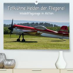 Tollkühne Helden der Fliegerei – Modellflugzeuge in Aktion (Premium, hochwertiger DIN A2 Wandkalender 2020, Kunstdruck in Hochglanz) von Teßen,  Sonja