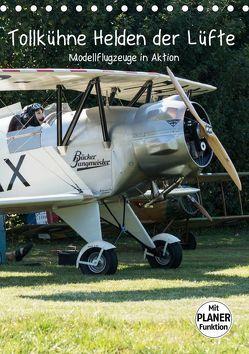 Tollkühne Helden der Lüfte – Modellflugzeuge in Aktion (Tischkalender 2019 DIN A5 hoch) von Teßen,  Sonja