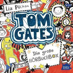 Tom Gates. Die große Hörbuchbox von Missler,  Robert, Pichon,  Liz