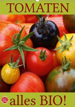 Tomaten – Alles BIO! (Wandkalender 2020 DIN A2 hoch) von Cross,  Martina
