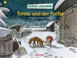 Tomte und der Fuchs von Hacht,  Silke von, Lindgren,  Astrid, Wiberg,  Harald