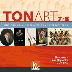 TONART 7/8. Audio-CDs von Hofmann,  Bernhard, Lindner,  Ursel, Mack,  Dieter, Mastnak,  Wolfgang, Schmid,  Wieland, Zink,  Bernhard