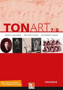 TONART 7/8. Lehrerband von Hofmann,  Bernhard, Lindner,  Ursel, Mack,  Dieter, Mastnak,  Wolfgang, Schmid,  Wieland, Zink,  Bernhard