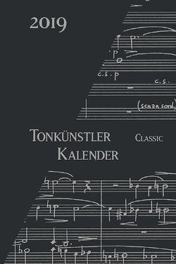 Tonkünstler-Kalender Classic 2019