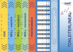 Tonleiterlineal von Leuchtner,  Martin, Waizmann,  Bruno