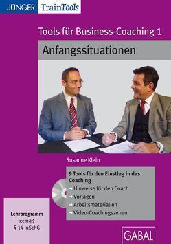 Tools für Business-Coaching 1 von Klein,  Susanne
