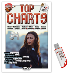 Top Charts 84 (mit CD + Midifiles, USB-Stick)