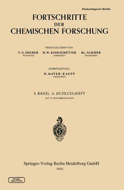 Topics in Current Chemistry 3/4 von Fischer,  F. G., Kohlschütter,  H. W., Schäfer,  K L