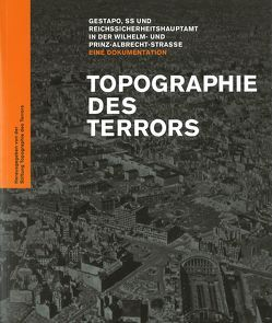 Topographie des Terrors von Hesse,  Klaus, Kufeke,  Kay, Nachama,  Andreas, Sander,  Andreas