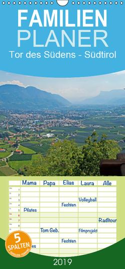 Tor des Südens – Familienplaner hoch (Wandkalender 2019 <strong>21 cm x 45 cm</strong> hoch) von Albilt,  Rabea