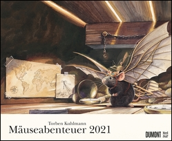 Torben Kuhlmann Mäuseabenteuer 2021 – DUMONT Kinder-Kalender – Querformat 52 x 42,5 cm – Spiralbindung von Kuhlmann,  Torben
