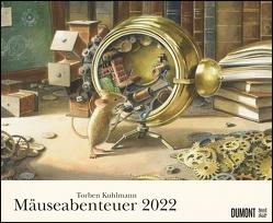 Torben Kuhlmann Mäuseabenteuer 2022 – DUMONT Kinder-Kalender – Querformat 52 x 42,5 cm – Spiralbindung von Kuhlmann,  Torben