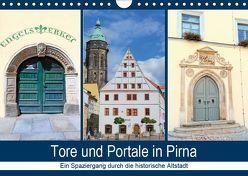 Tore und Portale in Pirna (Wandkalender 2019 DIN A4 quer) von Dudziak,  Gerold
