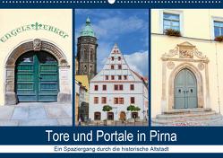 Tore und Portale in Pirna (Wandkalender 2021 DIN A2 quer) von Dudziak,  Gerold