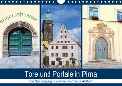 Tore und Portale in Pirna (Wandkalender 2021 DIN A4 quer) von Dudziak,  Gerold