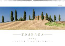 TOSKANA 2019 – Panoramakalender (Wandkalender 2019 DIN A2 quer) von Kappelmeier,  Jürgen