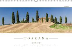 TOSKANA 2019 – Panoramakalender (Wandkalender 2019 DIN A3 quer) von Kappelmeier,  Jürgen