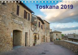Toskana – 2019 (Tischkalender 2019 DIN A5 quer) von Lederer,  Benjamin