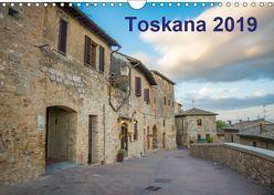 Toskana – 2019 (Wandkalender 2019 DIN A4 quer) von Lederer,  Benjamin