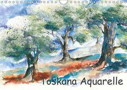 Toskana Aquarelle (Wandkalender 2019 DIN A4 quer) von Krause,  Jitka