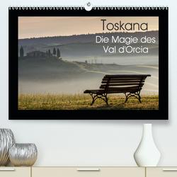 Toskana – Die Magie des Val d'Orcia (Premium, hochwertiger DIN A2 Wandkalender 2021, Kunstdruck in Hochglanz) von Schürholz,  Peter